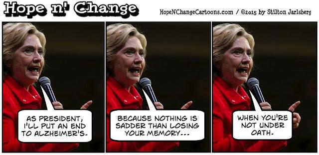 obama, obama jokes, political, humor, cartoon, conservative, hope n' change, hope and change, stilton jarlsberg, alzheimer's, hillary, election