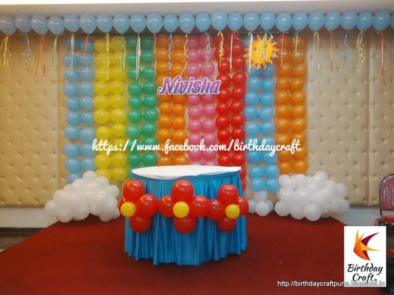 Birthday Party Ideas Birthday Party Ideas At Home In India