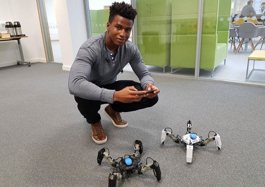 Silas Adekunle, The Highest Paid Robotic Engineer in the World