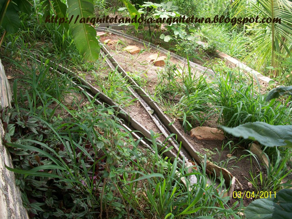 terreno inclinado pode ser um grande aliado na irrigação