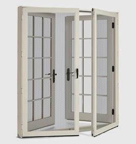 Jenny steffens hobick for Marvin ultimate swinging screen door