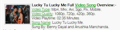 Lucky Tu Lucky Me Full Mp3 Song Download Humpty Sharma Ki Dulhania