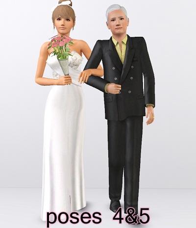 Wedding Pose Pack by Traelia 4%25265