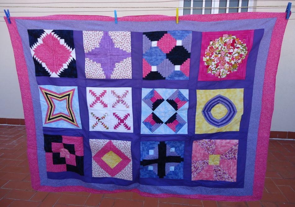 Karen 39 s patchwork quilt almazuelas - Almazuelas patrones gratis ...