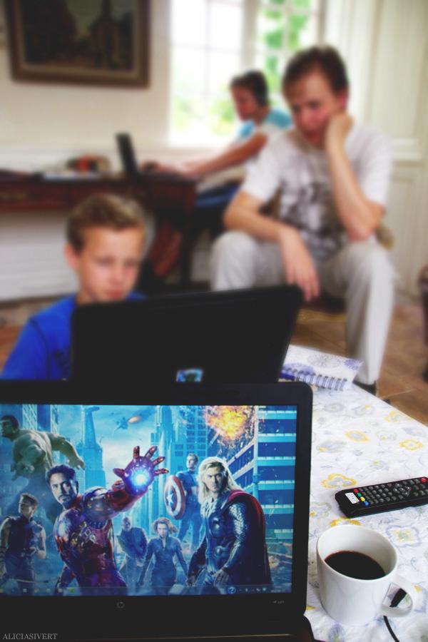 aliciasivert, alicia sivertsson, avengers, computer, dator, game
