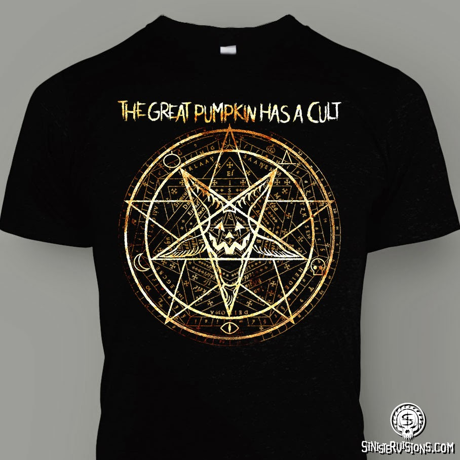 Cult of the Great Pumpkin Pentagram T-Shirt