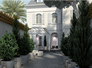photos of louis vuitton lvmh new luxury hotel called White 1921 in Saint Tropez