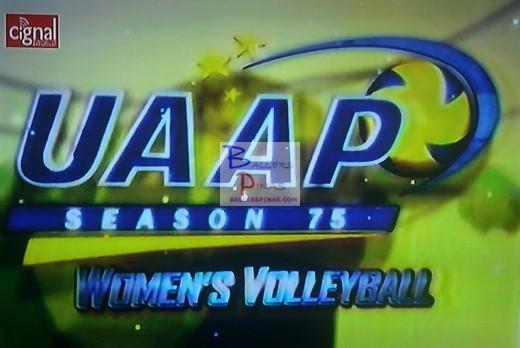 UAAP Season 75 Women's Volleyball