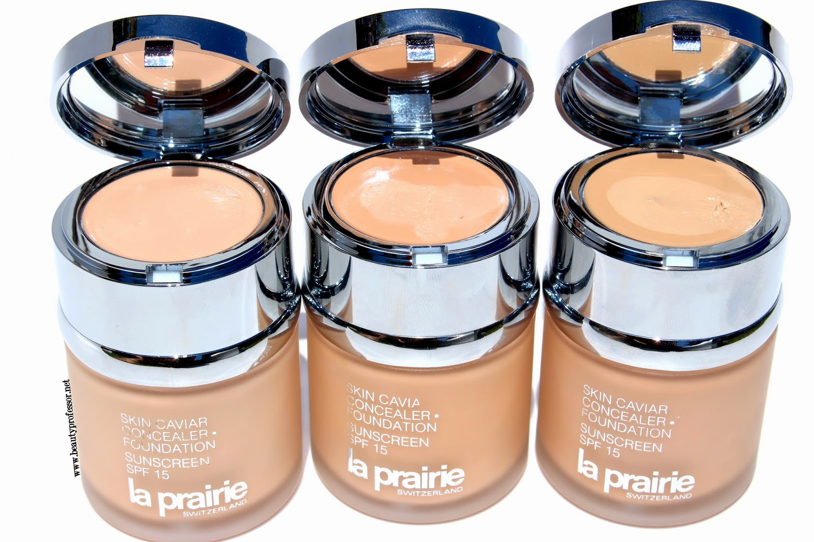 Beauty Professor: La Prairie Skin Caviar Concealer + Foundation ...