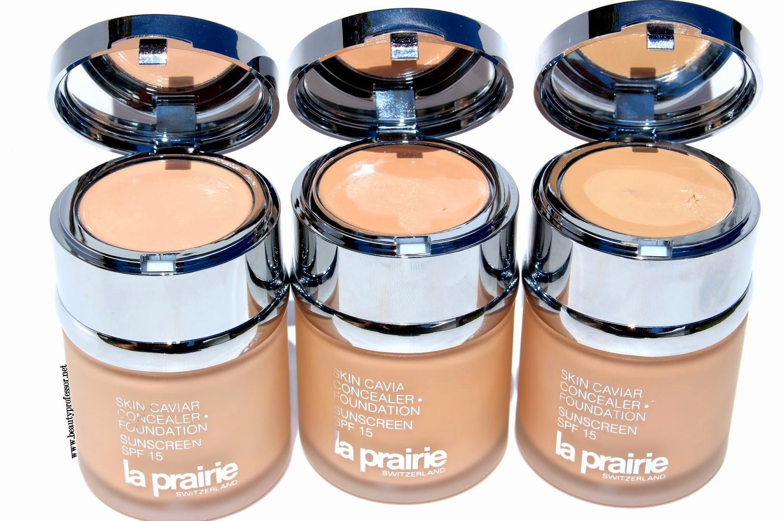 la prairie skin caviar foundation