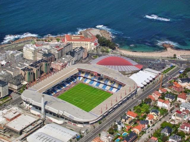 Estadio Riazor - Deportivo de La Coruña Stadium