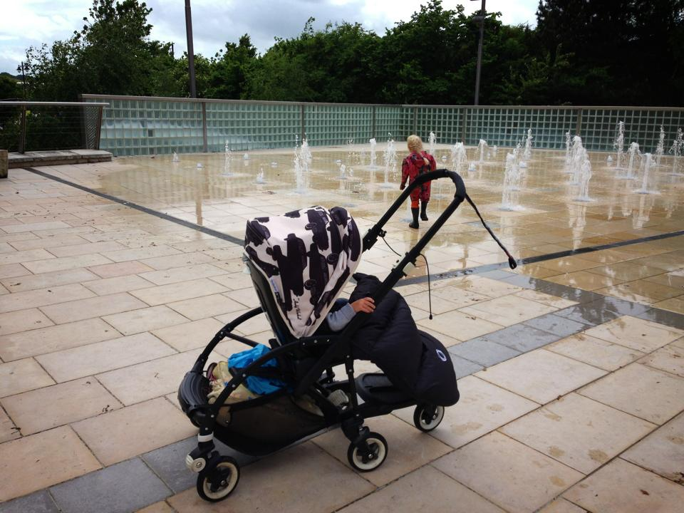 Bugaboo Brigade All Black Bee with Andy Warhol Hood & BusyBee | UK Crafty Talipes Baby and Lifestyle Blog: The Bugaboo ...
