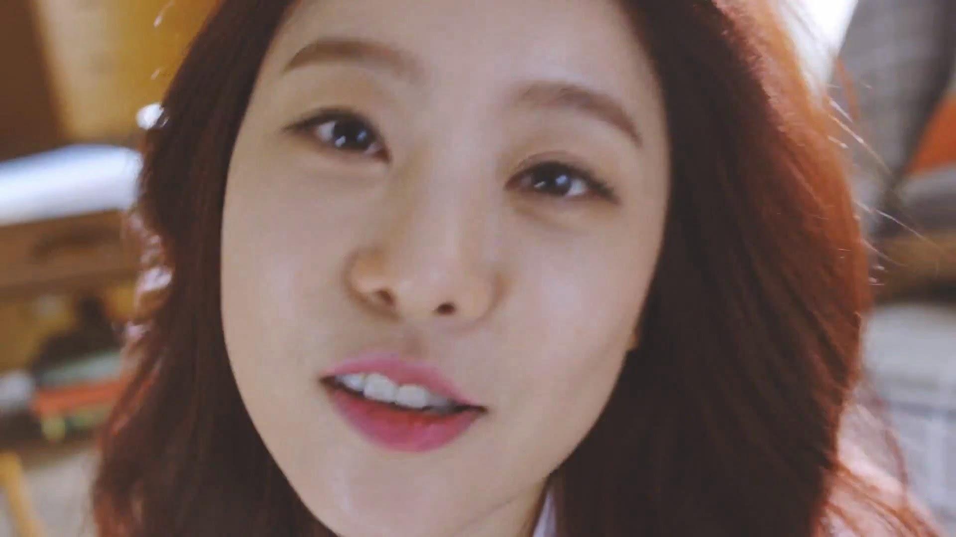Girl's Day's Sojin in Hello Bubble Teaser