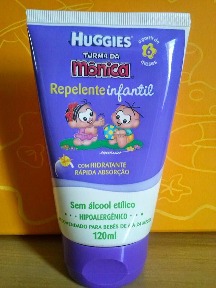 Repelente Infantil Turma da Mônica