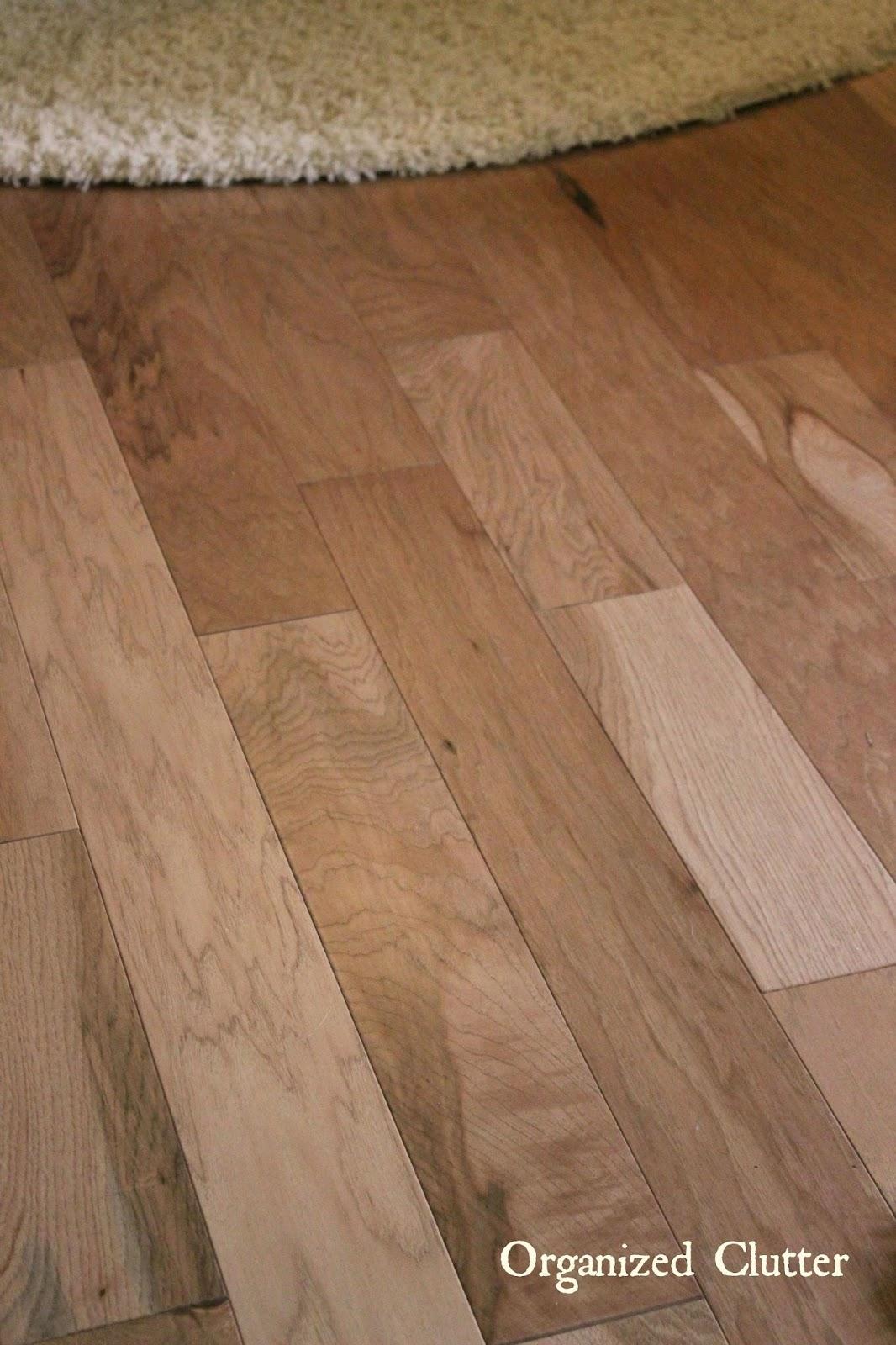 Organized Clutter Why I Chose Shaw Engineered Hardwood Flooring