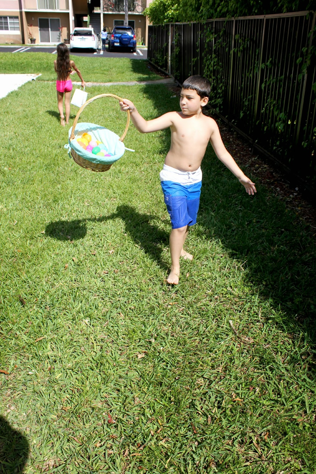 Easter Pool Party and Egg Hunt