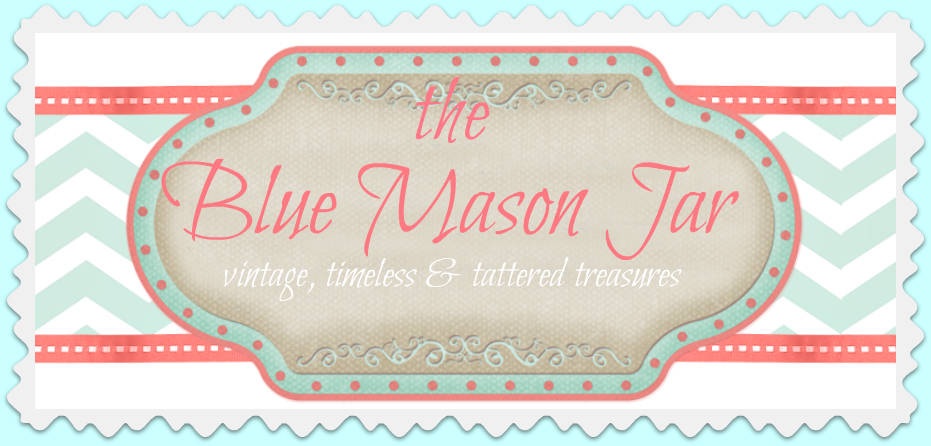 the Blue Mason Jar