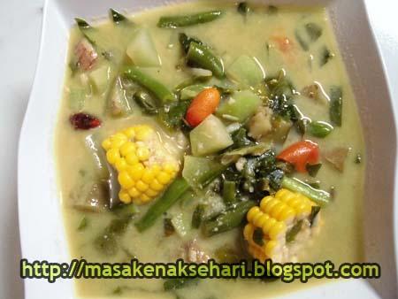 Resep Sayur Lodeh Sunda Gurih dan Special   Kumpulan Resep Masakan ...