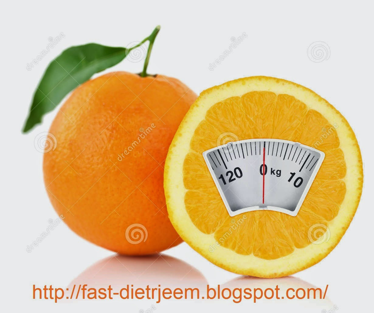 ريجيم البرتقال