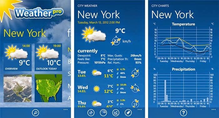 Preview WeatherPro | andromin