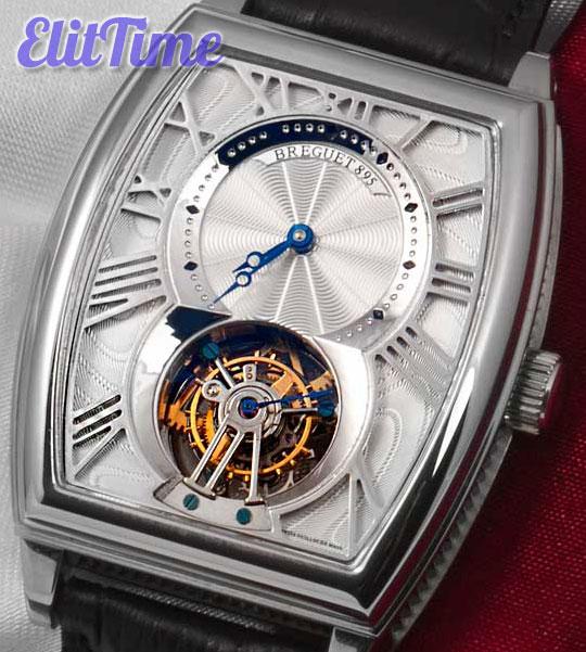Прозрачные часы Breguet
