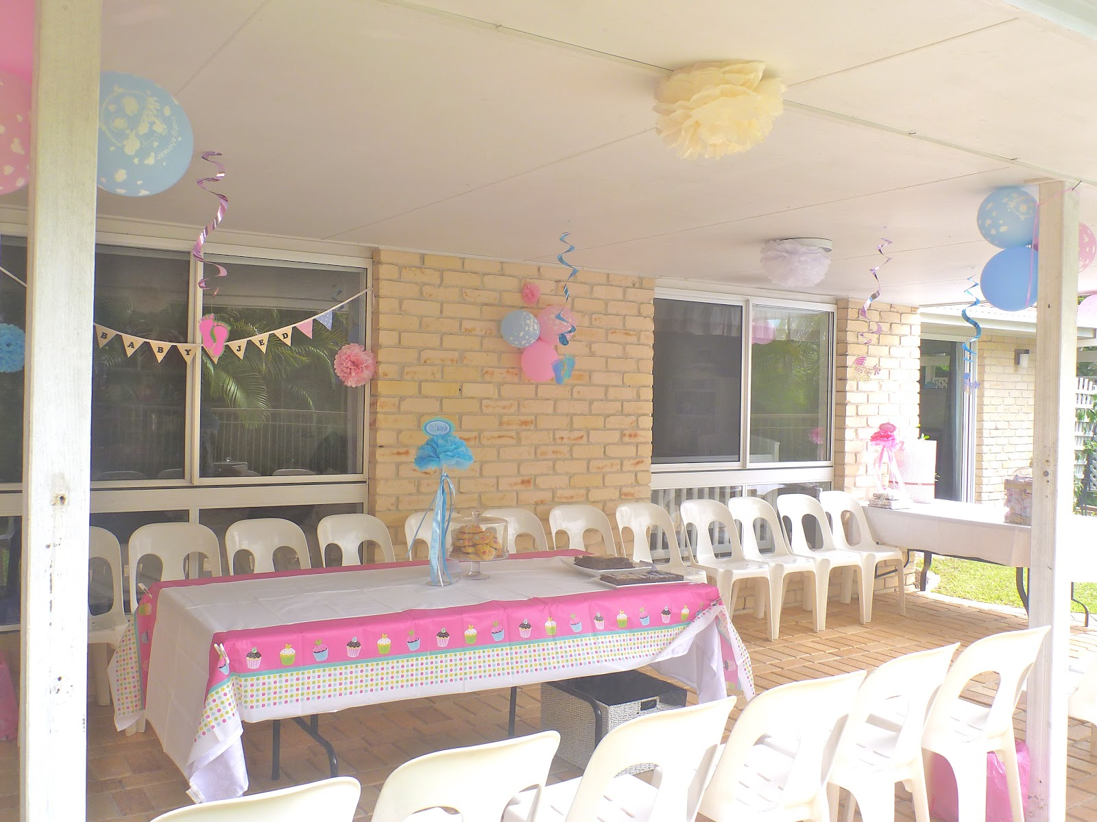 Cassadiva My Baby Shower The Decorations Part 1