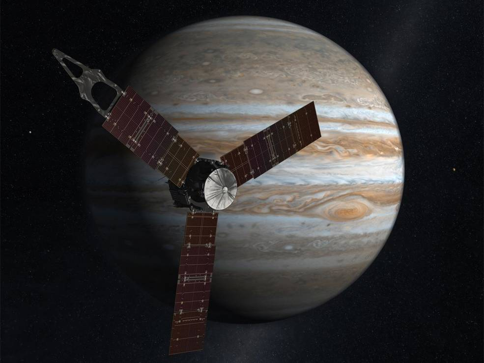NASA's Juno at Jupiter