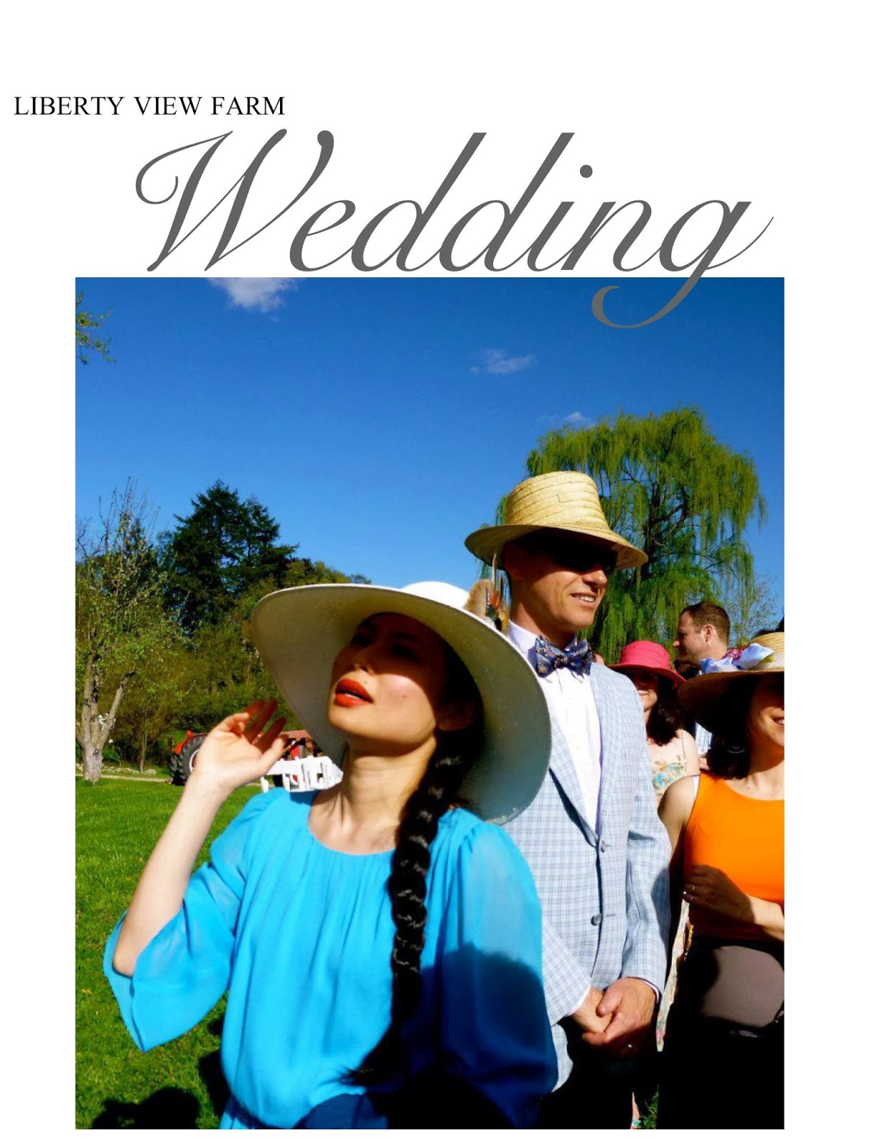 What To Wear A Farm Wedding
