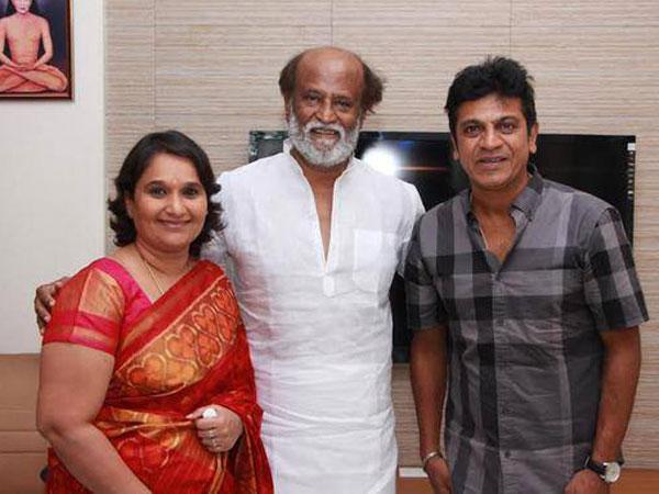 Shivrajkumar invites Rajinikanth, Kamal for daughter's wedding