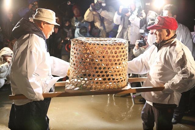 U-MATSURI Cormorant Festival, December 16, Hakui-City, Ishikawa