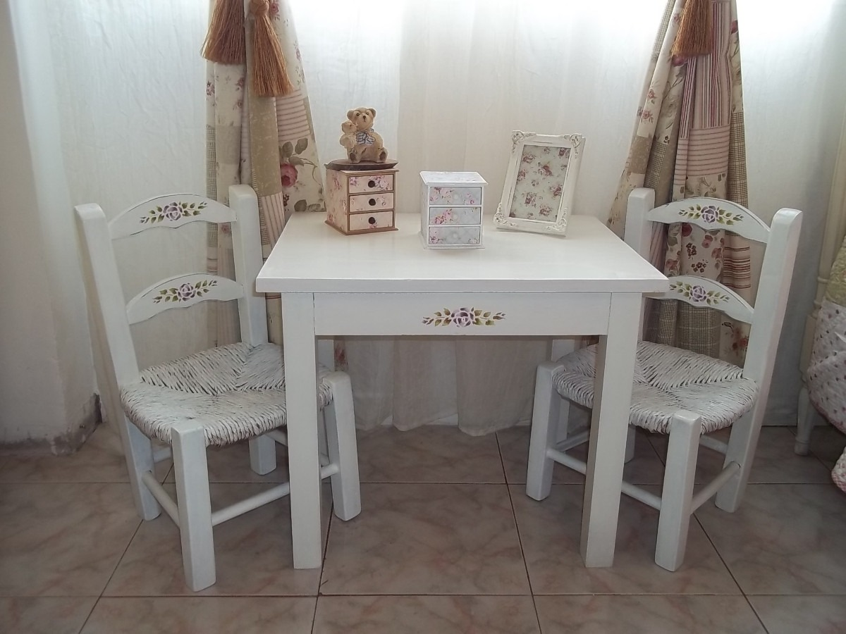Con decoro shabby chic for Muebles shabby