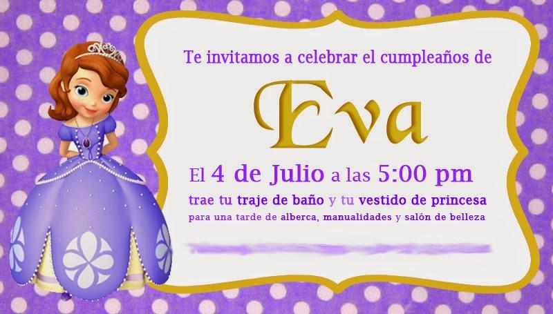 Ideas para una fiesta de Princesita Sofia | www.aliciallanas.com