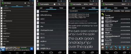 Font Installer Apk Terbaru