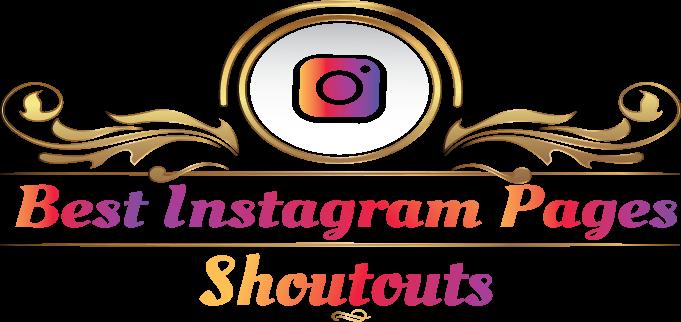 best instagram shoutout pages