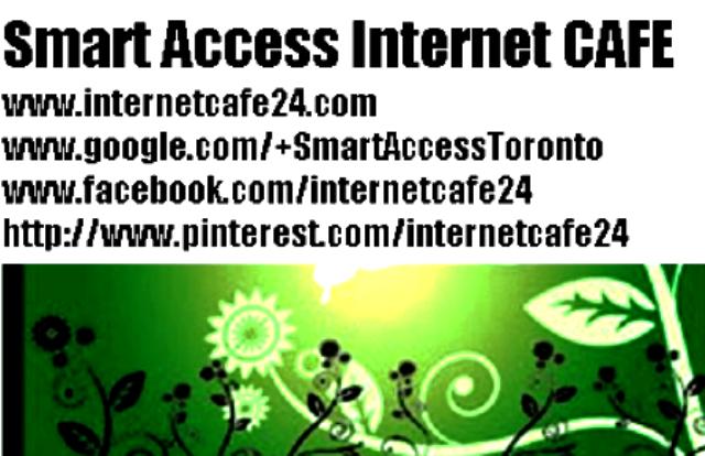 Internet cafe Toronto,Cyber Cafe Toronto