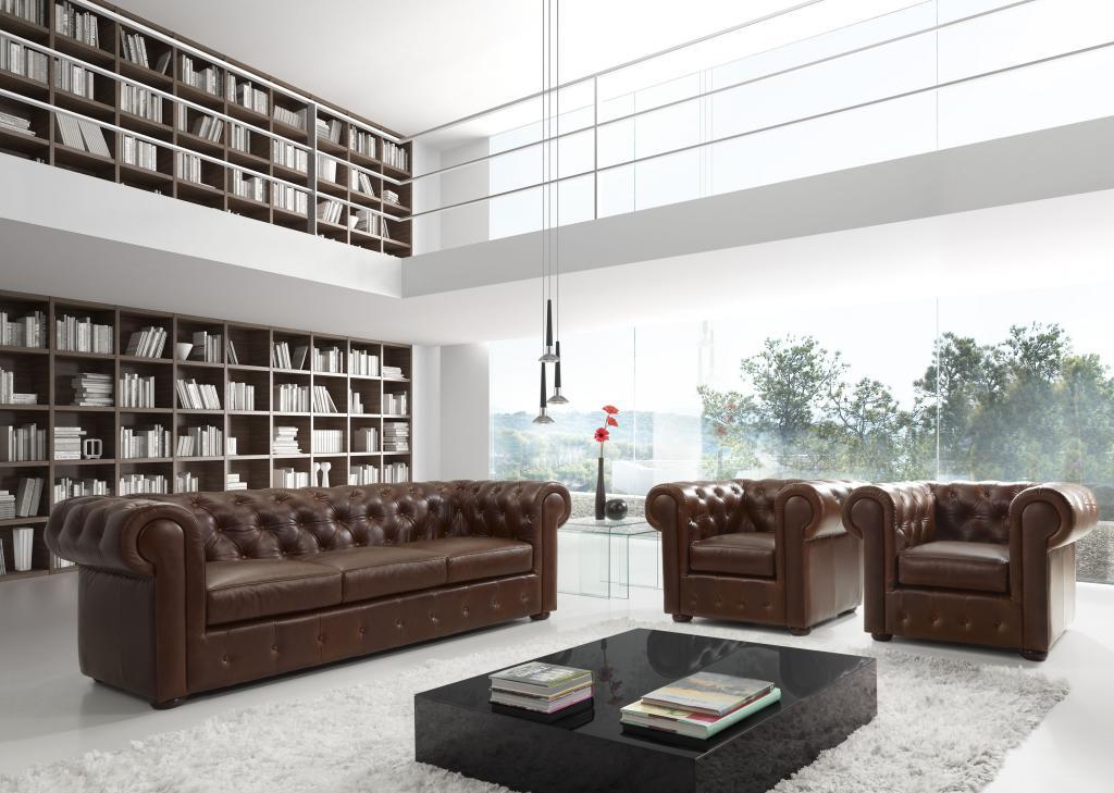 Sofa chesterfield - Salon chesterfield ...