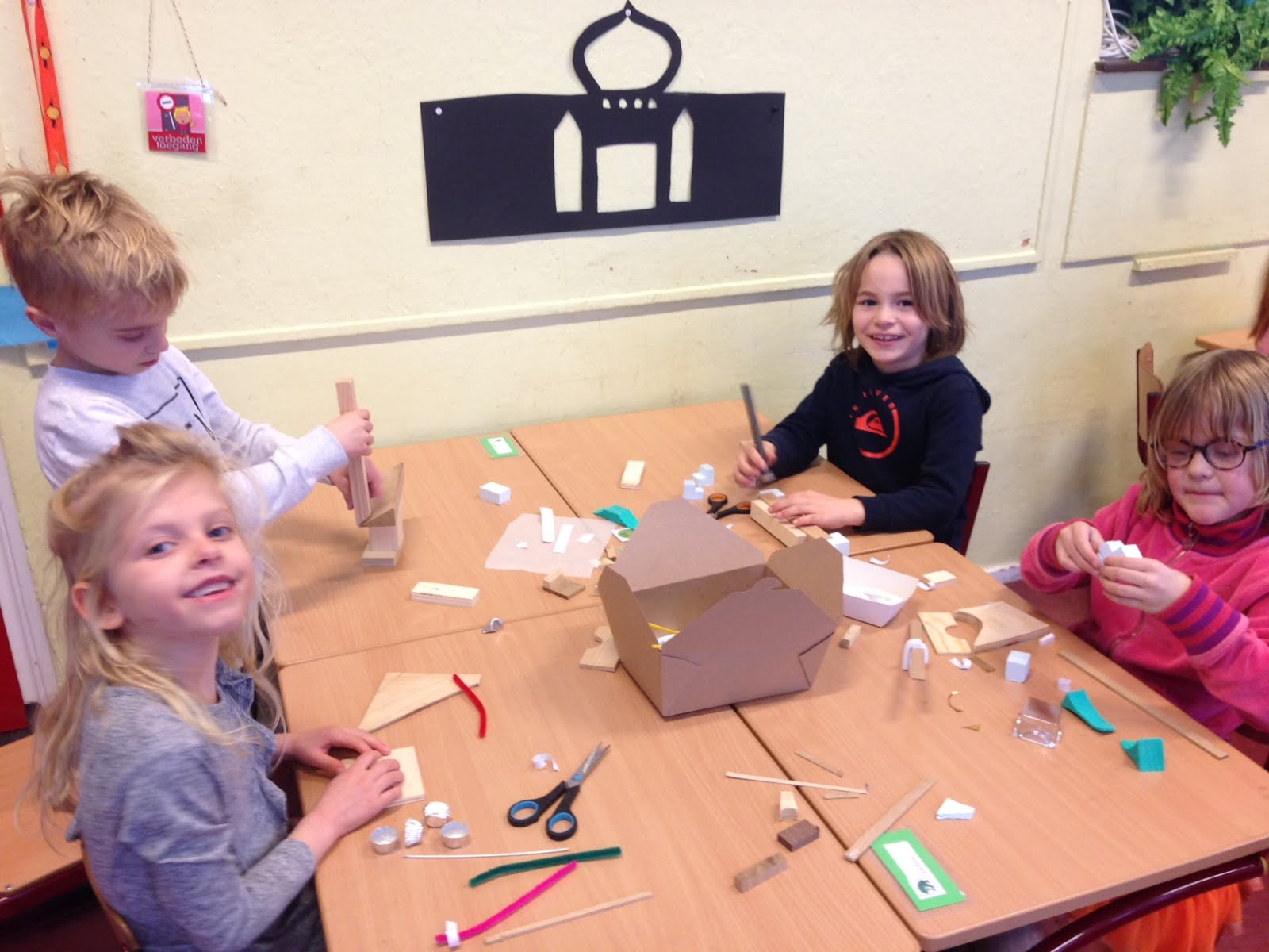 creatieve workshop in 3a