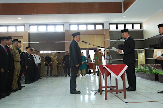 Pelantikan Pj.Sekretaris Daerah Kota Palopo H.Jamaluddin.,SH.MH