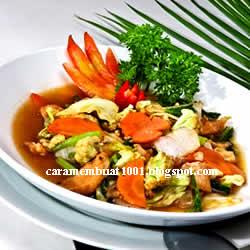 Resep Capcay Sayur
