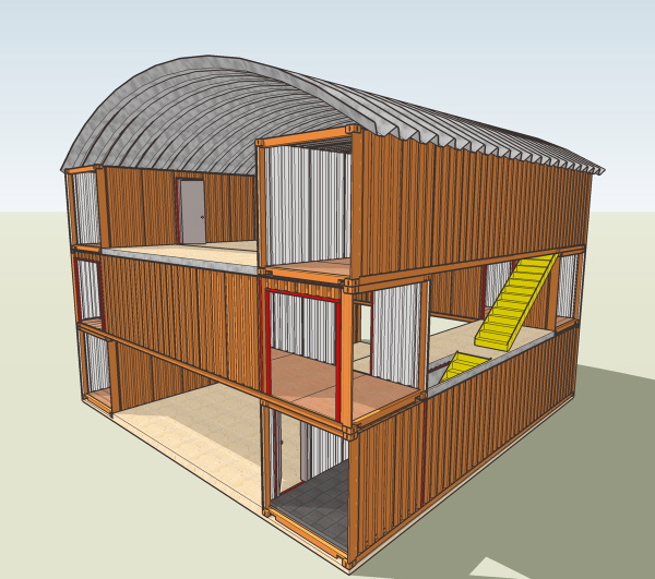 Jb flowersandveg shipping container dreaming - Cargo container homes plans ...