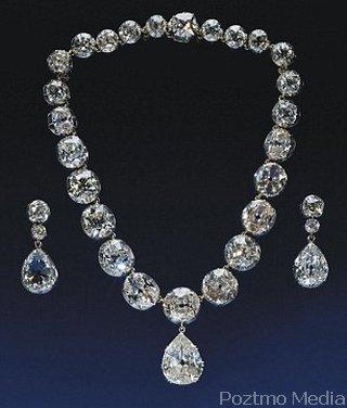 Kalung - Anting Berlian Kerajaan Inggris