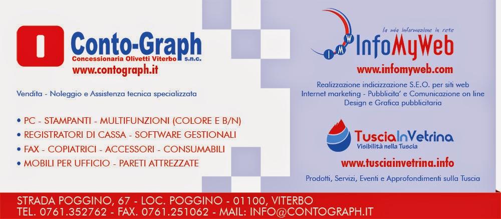 CONTO-GRAPH s.n.c. - InfoMyWeb - Concessionaria Olivetti Viterbo
