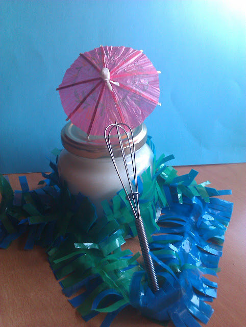 crema cuerpo DIY afro bizcochito tropical