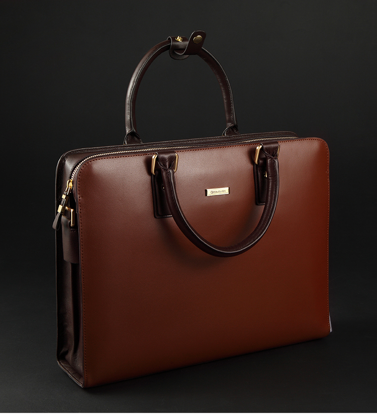Mens High-end Leather Shoulder Red Brown Bag 44VVEKTCPI[44VVEKTCPI]