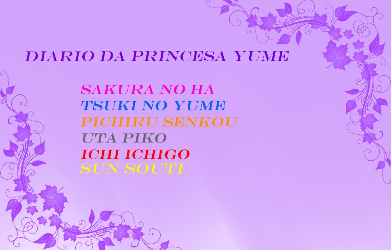 Diario da princesa Yume
