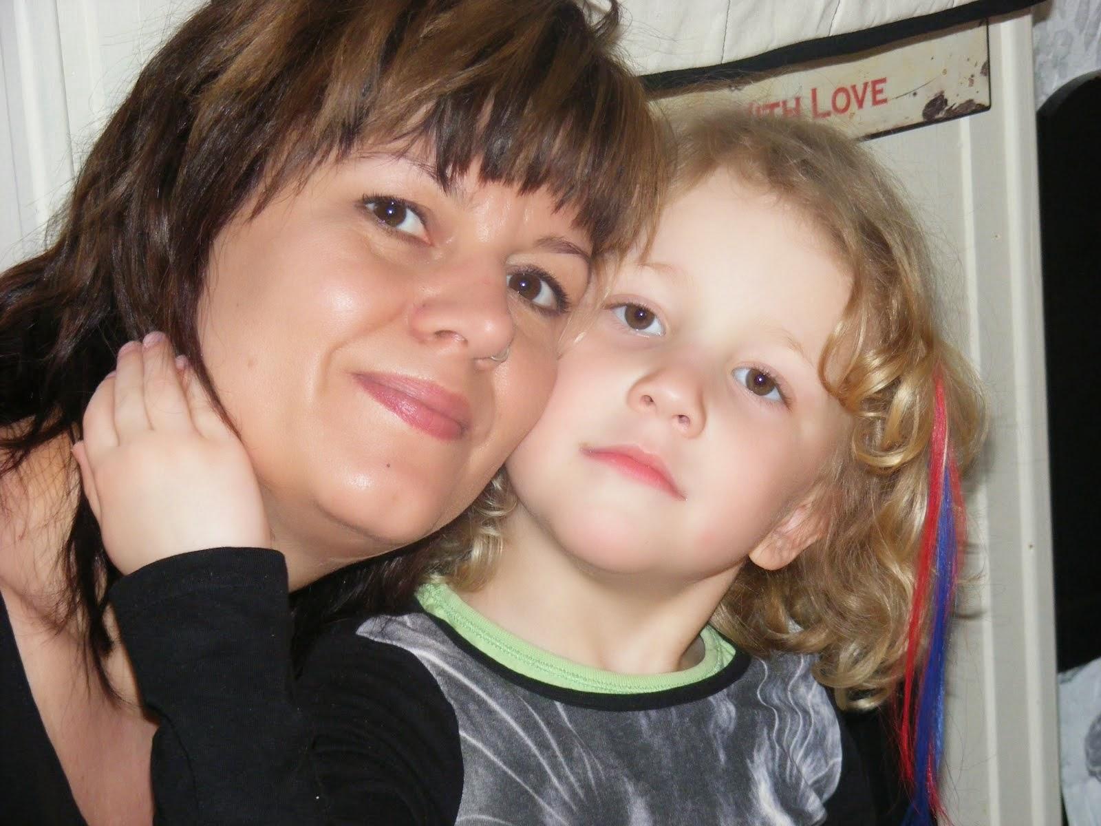 tante Yvonne og Saga