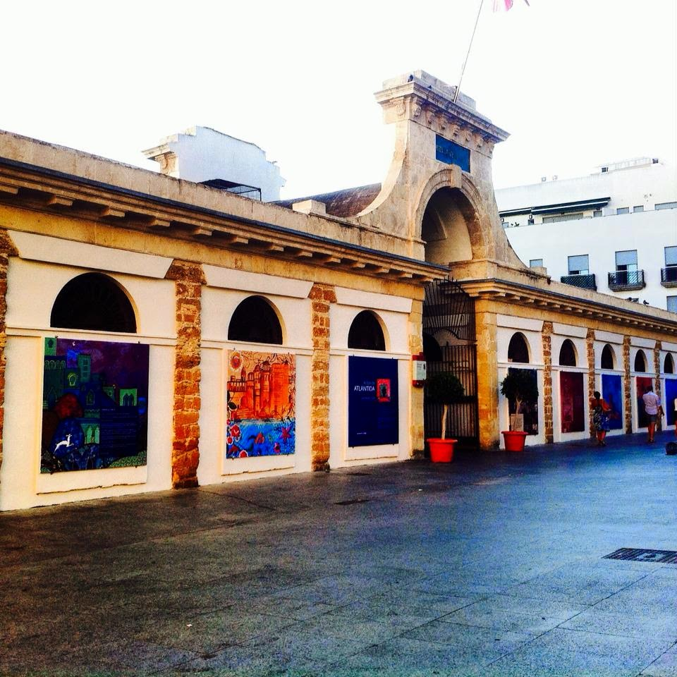 MERCADO CENTRAL de Cádiz