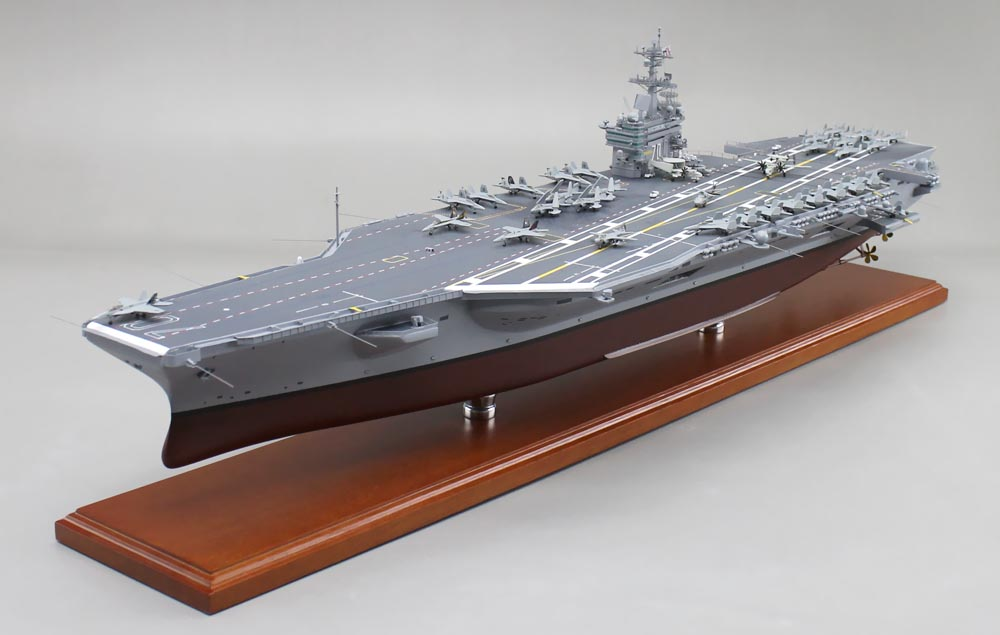 USS Carl Vinson (CVN-70) Aircraft Carrier Model | SD Model ...