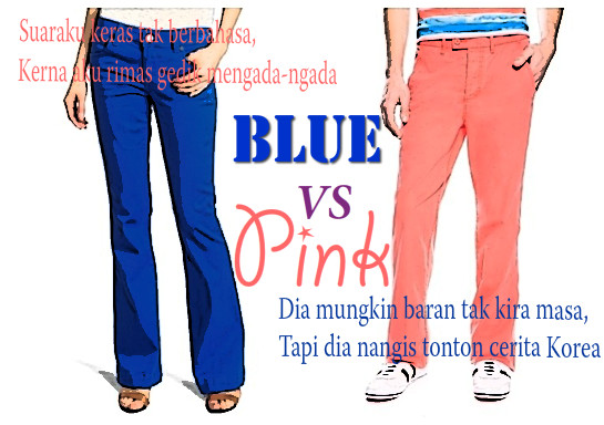 Blue Vs Pink |mini ceritera|