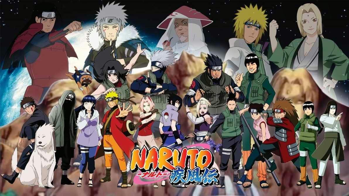 Naruto Shippuden hd wallpaper Konoha